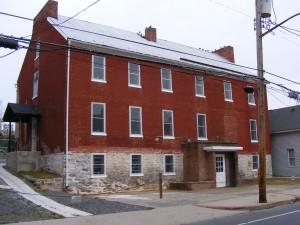 Hagerstown Almshouse, circa 1799, Hagerstown, MD