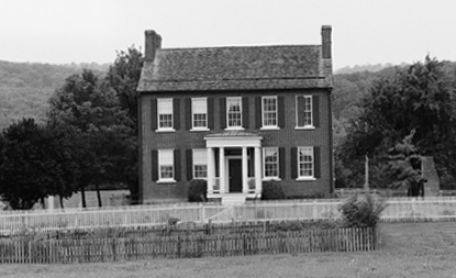 Plumb Grove mansion is now owned by the Clear Spring District Historical Association. Photo by Natalie Brown (2002).
