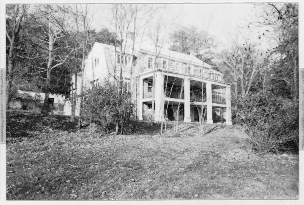 Dalecarlia outside Hancock, MD before restoration.
