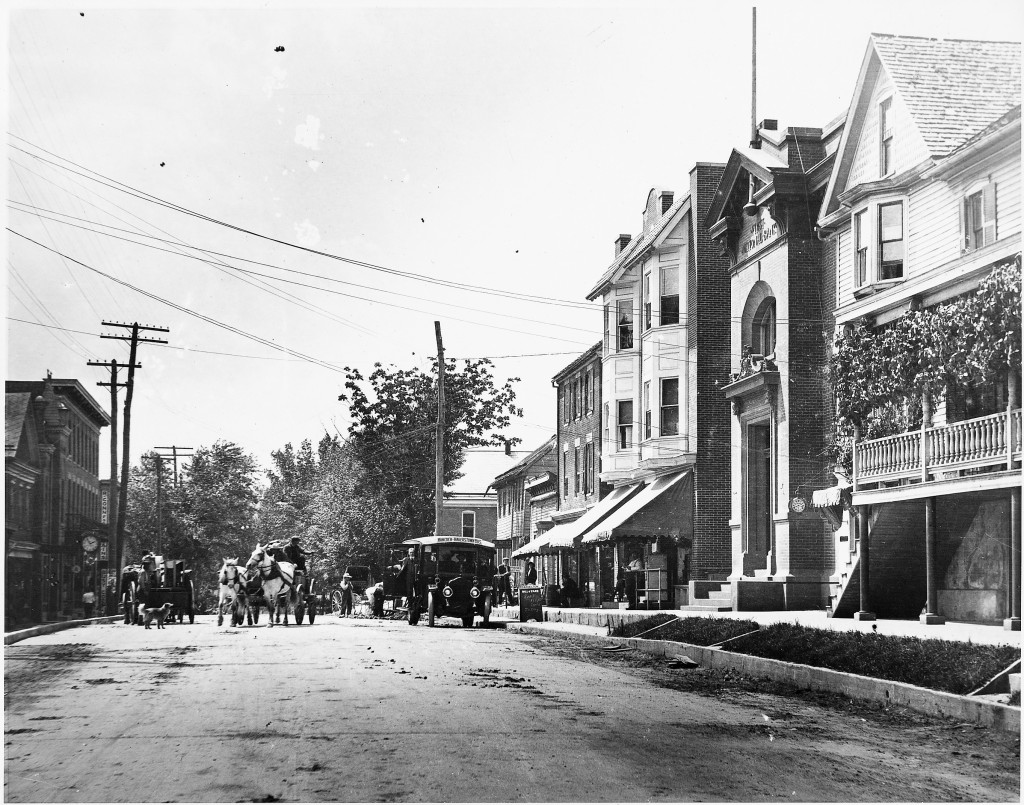 Main Street Hancock, MD. Circa 1910