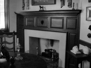 Robert Clagett Farm Corner Fireplace