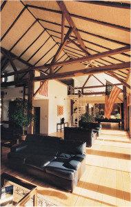 Mount Tammany, circa 1780, barn interior