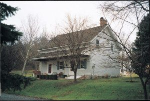 Antietam Hall, small brick house