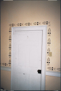 Antietam Hall, stenciling