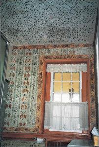 Antietam Hall, circa 1769 -1800 original stenciling