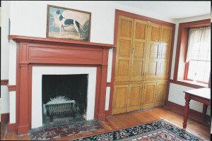 Greystone Farm, circa 1843 living room