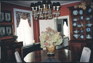 Paradise Manor,  dining room