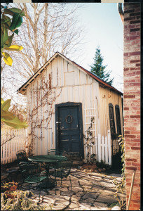 Angela Kirkham Davis House, her little shed