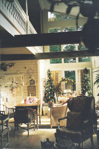 Stonemont, enclosed porch
