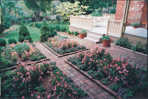 The gardens of the Perry House in Clear Spring, MD