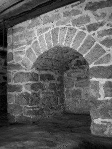 Ashton Hall Arch Fireplace