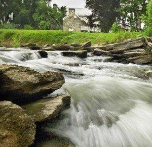 Jacob Hess House, Dam on the Antietam Creek
