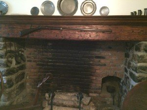 Keedy House Fireplace