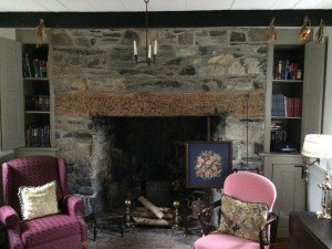 Keedy House Stone Fireplace