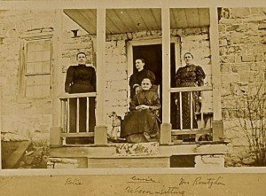 The Keedy House, circa 1890 photo