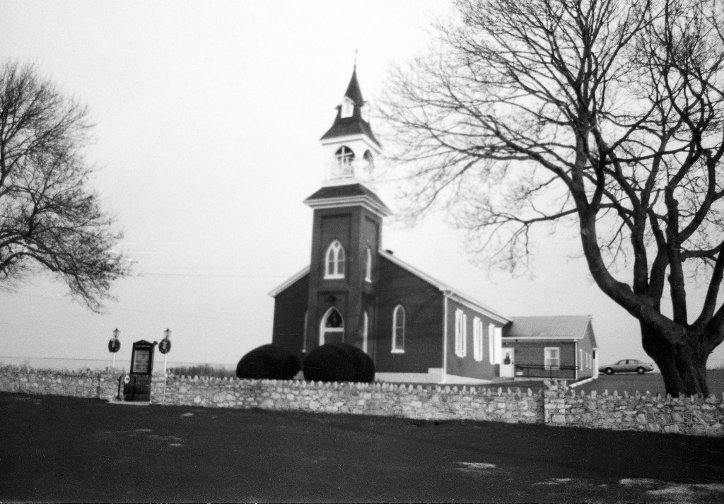 Beard's Church, circa 1863, Smithsburg, MD