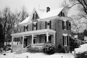 Stover's Manse, circa 1888, Smithsburg, MD