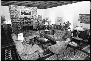 Stover's Manse, Fireplace, Living Room