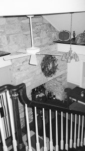 Christian Newcomer House, staircase