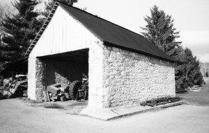 Glendale Farm, stone shed