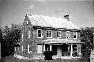 Seibert-Fernsler home before restoration