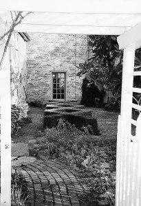Kirkham Davis, garden