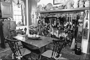 Kitchen of the Piper House. Photo by Richard T. Meagher/Herald-Mail Company
