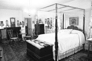 Bedroom at the Piper House. Photo by Richard T. Meagher/Herald-Mail Company