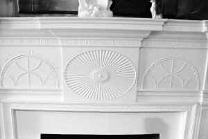Kef-Poff, fireplace mantle