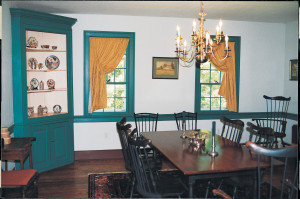 Hitt-Cost House, dining room