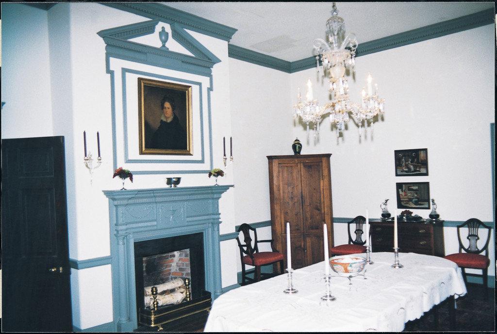 Rose Hill, dining room