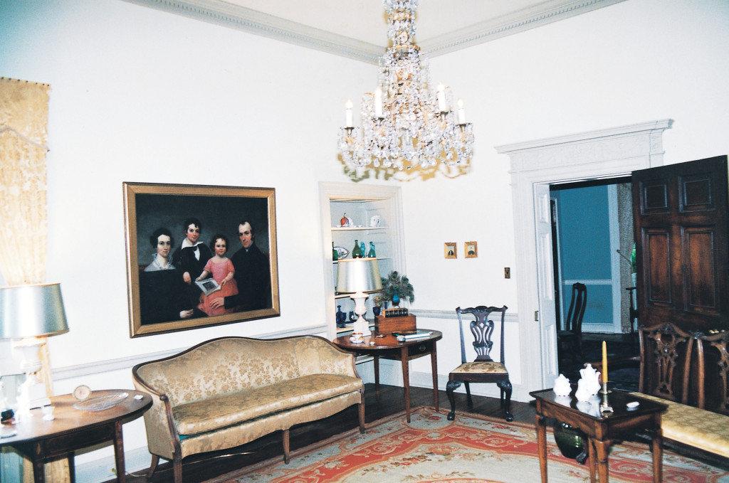 Rose Hill, living room