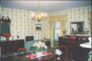 Montpelier, dining room