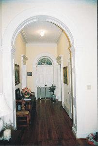Rockland, hallway