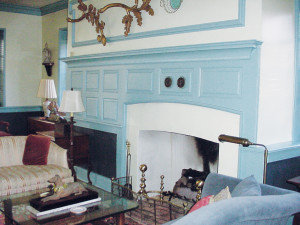 Robert Clagett Farm House Fireplace