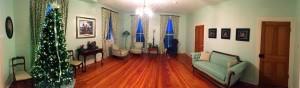The Living Room at Elmwood after Restoration