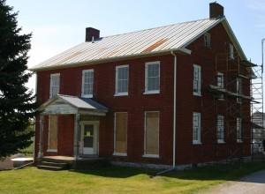 Elmwood during restoration