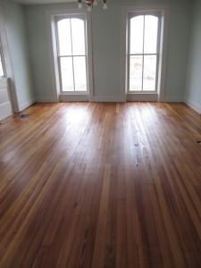 Elmwood Living Room during Restoration