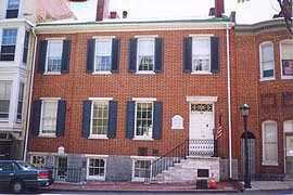 Miller House, circa 1825, Hagerstown, MD